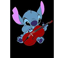 Stitch and a cello - requested  Photographic Print