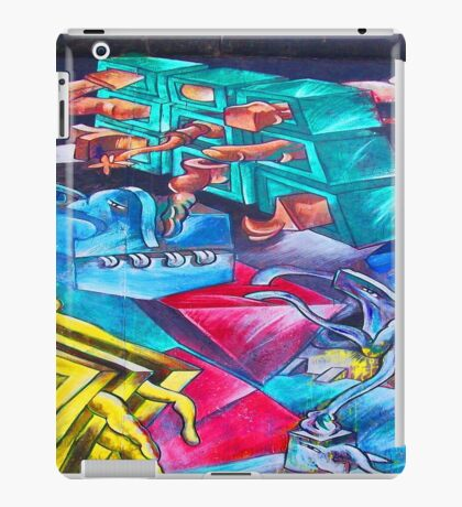 Graffiti Toons iPad Case/Skin