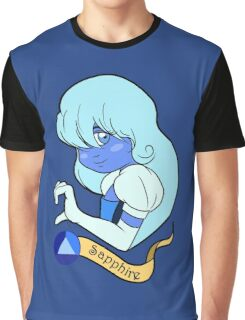 Steven Universe - Sapphire Graphic T-Shirt