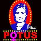 Hillary Clinton for President POTUS by shaggylocks