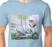Memorial  A Man and His Bike Unisex T-Shirt