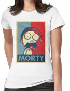 Morty Womens Fitted T-Shirt