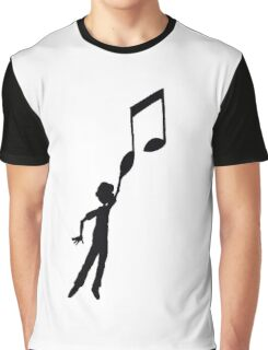 Hooked at music Graphic T-Shirt
