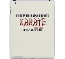 Rickety Hills Senior Center Karate iPad Case/Skin