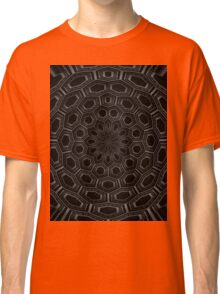 radial abstract black and white Classic T-Shirt
