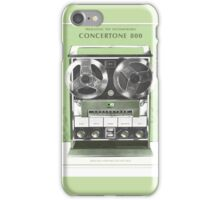 Tape Recorder iPhone Case/Skin
