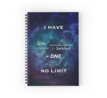 I Have No Limit Spiral Notebook