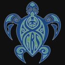 GBS Turtle Green & Blue by turnerstokens