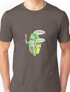Rick and Morty On T-Shirt Unisex T-Shirt