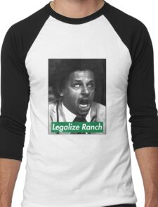 Legalize Ranch - Green - Eric Andre Picture Men's Baseball ¾ T-Shirt