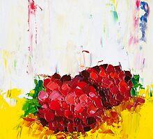 Slice of Raspberry by ebuchmann