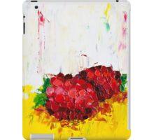 Slice of Raspberry iPad Case/Skin
