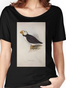 John Gould The Birds of Europe 1837 V1 V5 404 Northern Puffin Women's Relaxed Fit T-Shirt