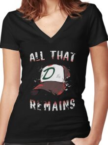 All That Remains Women's Fitted V-Neck T-Shirt