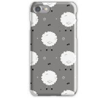 Funny sheep animal iPhone Case/Skin
