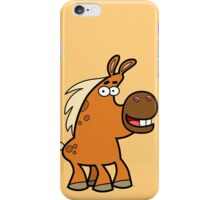 Cartoon Palomino Stud by Cheerful Madness!! iPhone Case/Skin