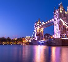 Tower Bridge by Svetlana Sewell