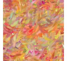 Bright brush strokes, abstract Photographic Print