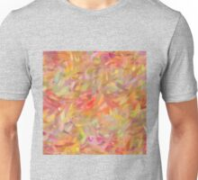 Bright brush strokes, abstract Unisex T-Shirt