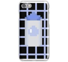 Pixel pastel bottle phone case iPhone Case/Skin