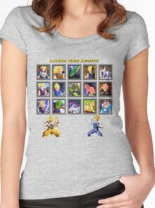 Dragon kombat  Women's Fitted Scoop T-Shirt