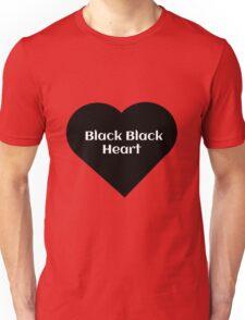 Black Black Heart Unisex T-Shirt