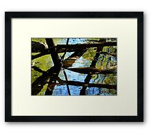 Abstract of the St Croix River 03 Framed Print