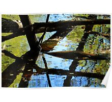 Abstract of the St Croix River 03 Poster