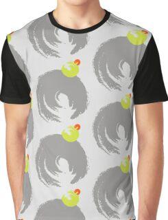 Brush circles Graphic T-Shirt