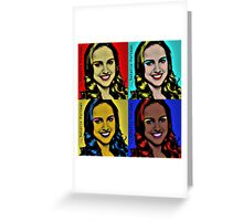 natalie popart  Greeting Card