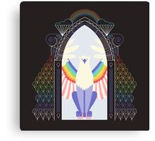Griffin (door) Pride Canvas Print