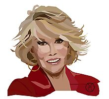Joan Rivers Photographic Print