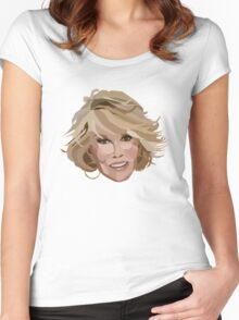 Joan Rivers Women's Fitted Scoop T-Shirt