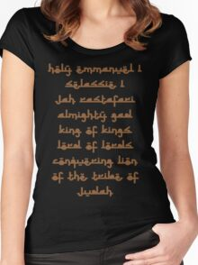 KING OF KINGS Women's Fitted Scoop T-Shirt