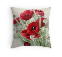 Something Red Throw Pillow