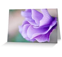 Sweet shades of Purple Greeting Card