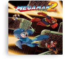 Mega Man 2  Canvas Print