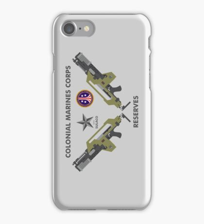 Colonial Marines Corps Reserves iPhone Case/Skin