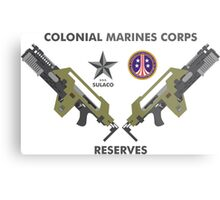 Colonial Marines Corps Reserves Metal Print
