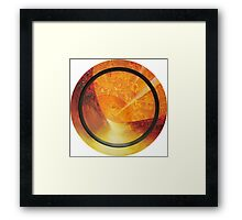 Discoloration of the Land Framed Print