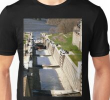The Rideau Canal and the Ottawa River Unisex T-Shirt