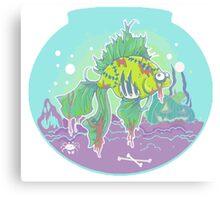 Frankenfish Pet Canvas Print