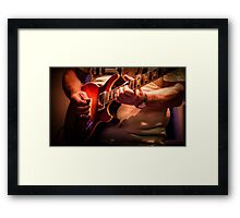 Gibson double cutaway Les Paul Framed Print
