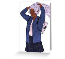 Allura Greeting Card