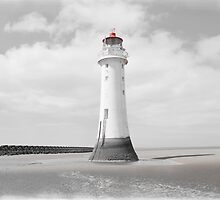 Perch Rock Isolation 3 by DavidWHughes