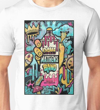 Dave Matthews Band, Tour 2016, BB&T Pavilion Camden NJ Unisex T-Shirt