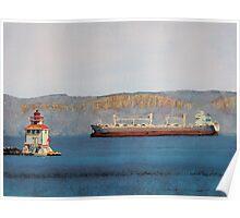 Main Lighthouse Thunder Bay Poster