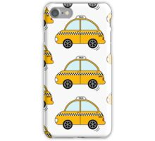 Yellow cab iPhone Case/Skin