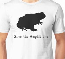 .Save the Amphibians! Save the Frogs!  Unisex T-Shirt