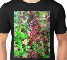 Leaves in an Irish Hedgerow Unisex T-Shirt